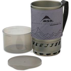 MSR WindBurner Accessory Zusatztopf 1l gray
